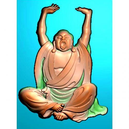 罗汉精雕图(LH-8067)
