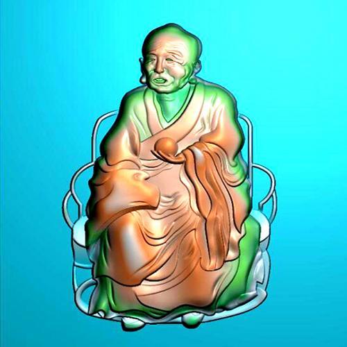 罗汉精雕图(LH-8071)