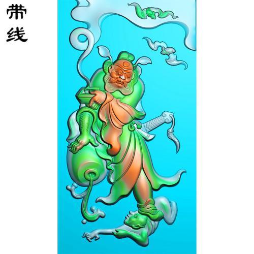 钟馗精雕图有线(GG-017)