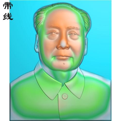 毛主席毛泽东精雕图有线(XDR-005)