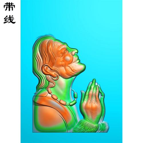 悟道老人精雕图(XDR-016)