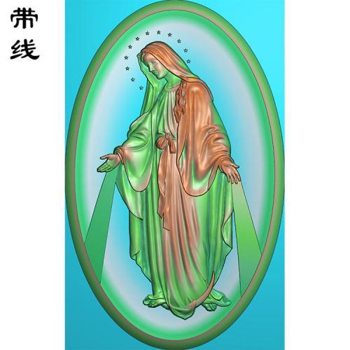 圣母精雕图(XFR-004)