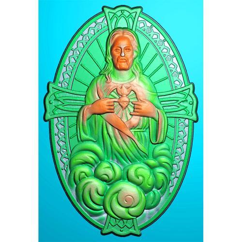 耶稣精雕图(XFR-006)
