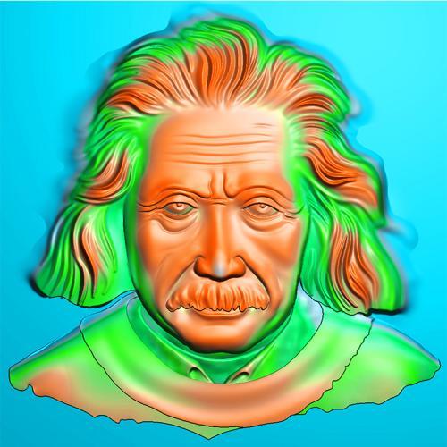 爱因斯坦精雕图(XFR-007)