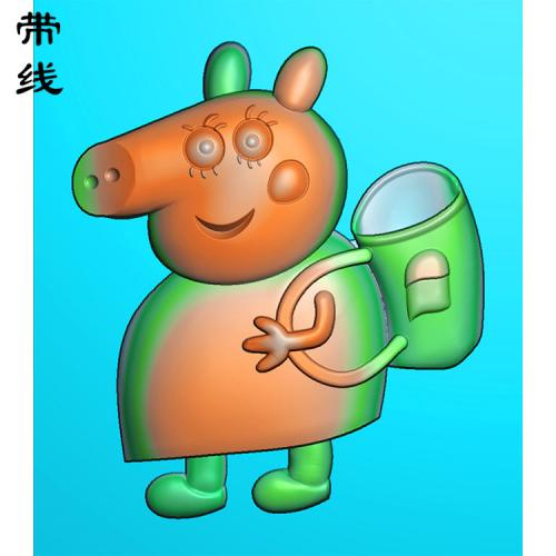 小猪佩奇精雕图(KTR-004)