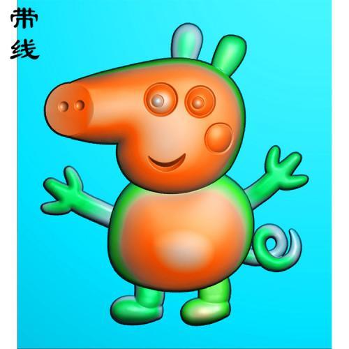 小猪佩奇精雕图(KTR-005)