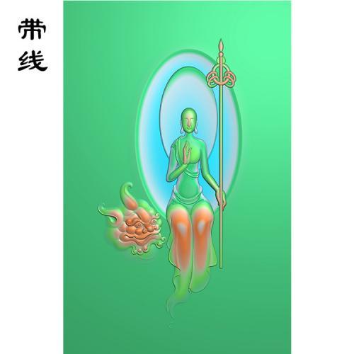 地藏王精雕图(DZW-003)