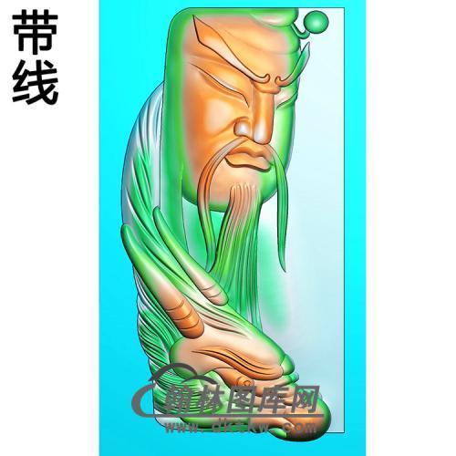 关公精雕图(CG-194)