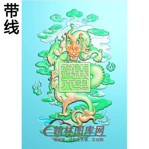 龙精雕图(CG-203)