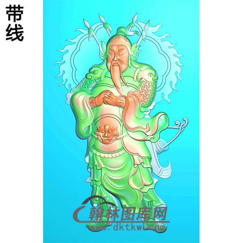 门神挂件精雕图(CS-121)
