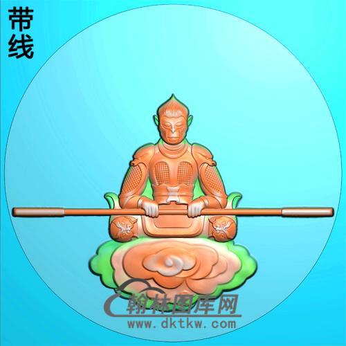 齐天大圣、孙悟空挂件精雕图(CS-115)