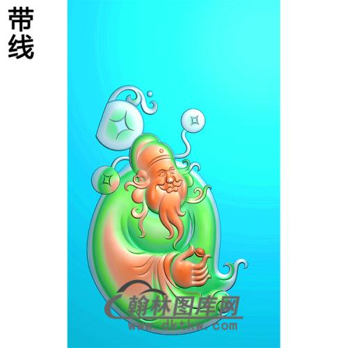 财神浮雕图(CS-035)