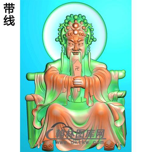 财神浮雕图(CS-038)