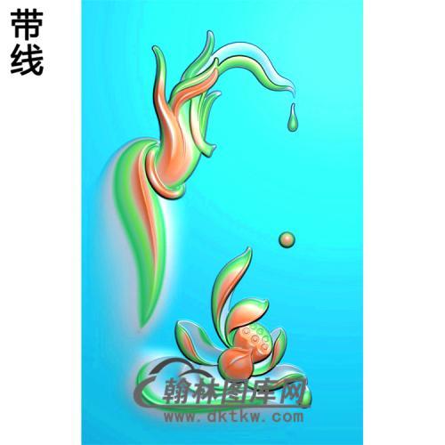 观音佛手浮雕图(FS-018)