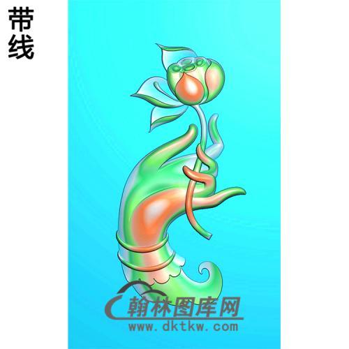 观音佛手浮雕图(FS-022)