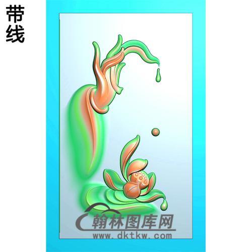 莲花观音浮雕图(FS-033)