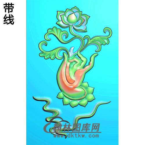 莲花观音浮雕图(FS-036)