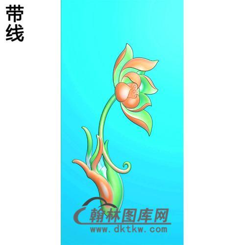 莲花佛手浮雕图(FS-042)