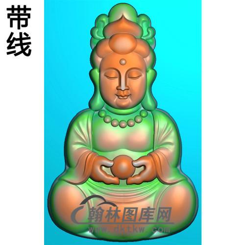 宝宝观音精雕图(IGY-016)