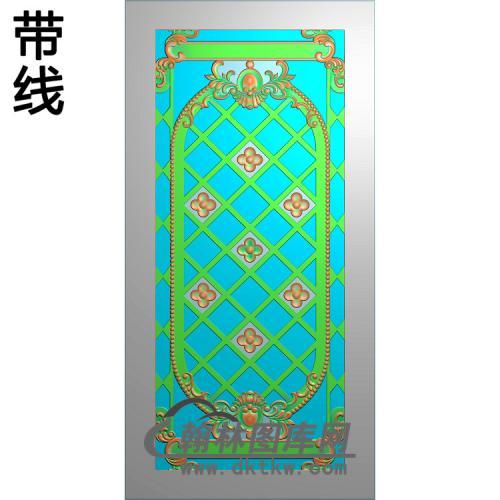 铝雕镂空洋花精雕图(TM-0118)