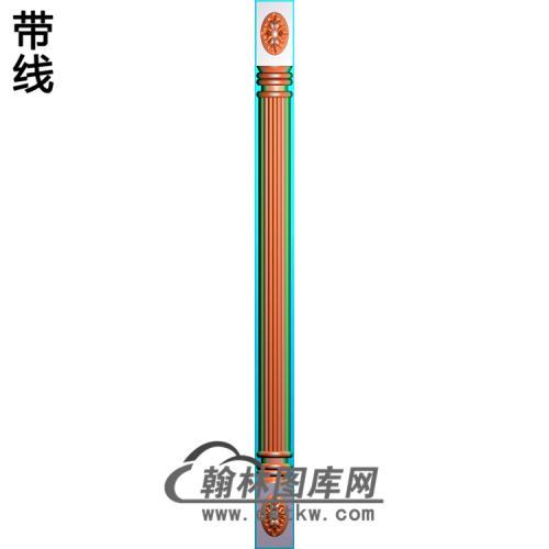 柱子柱板精雕图(ZB-041)