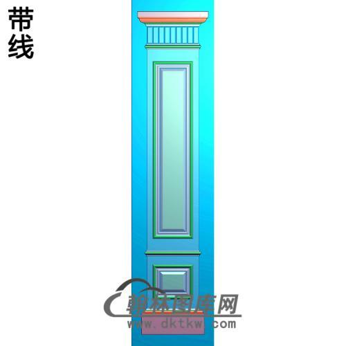 柱板造型精雕图(ZB-051)