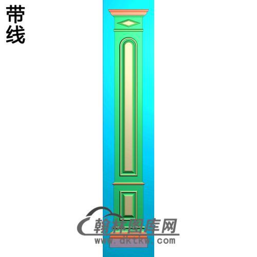 造型柱板精雕图(ZB-060)
