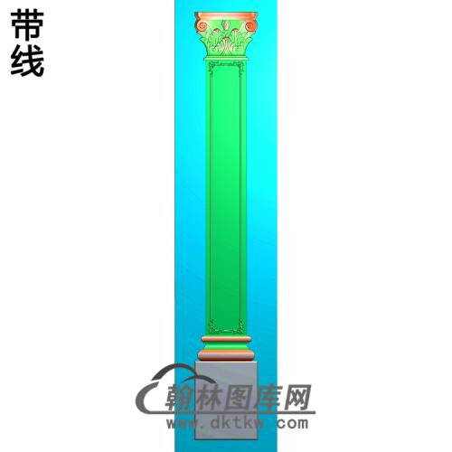 柱板精雕图(ZB-068)