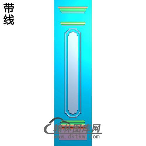 大板柱板精雕图(ZB-071)
