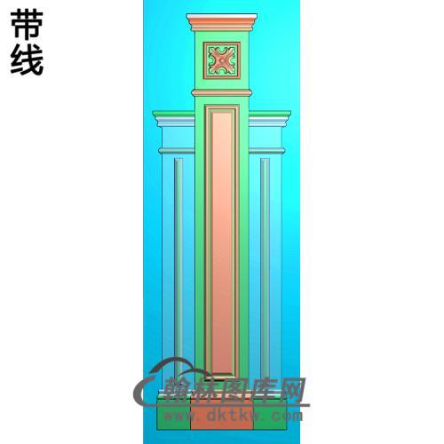 柱板精雕图(ZB-074)