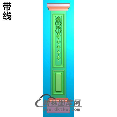 柱板精雕图(ZB-076)