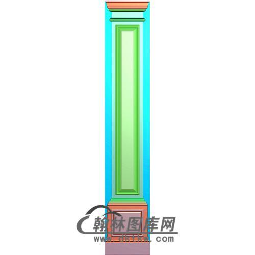 造型柱板精雕图(ZB-079)