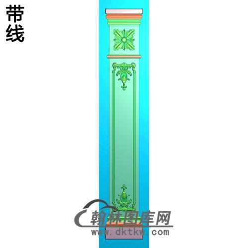 柱板精雕图(ZB-080)