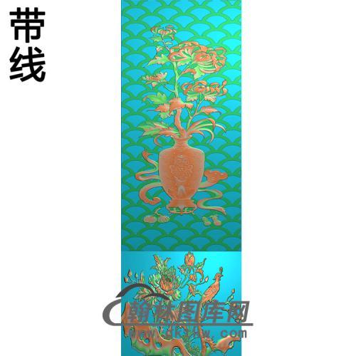菊花铝雕精雕图(TM-406)