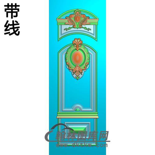 洋花铝雕精雕图(TM-424)