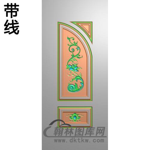 洋花铝雕精雕图(TM-468)