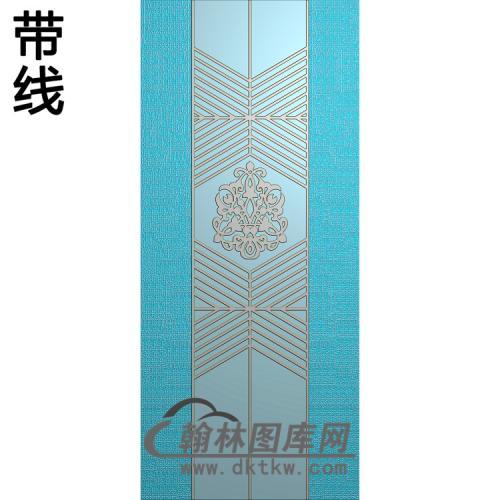 洋花铝雕精雕图(TM-475)