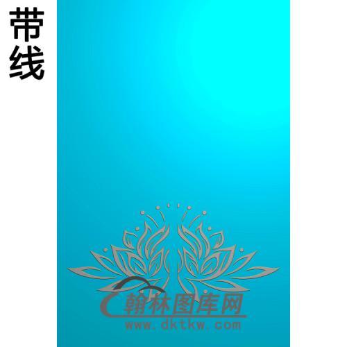 莲花5.21铝雕精雕图(TM-493)
