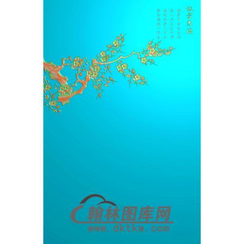 梅花无线5.21铝雕精雕图(TM-497)