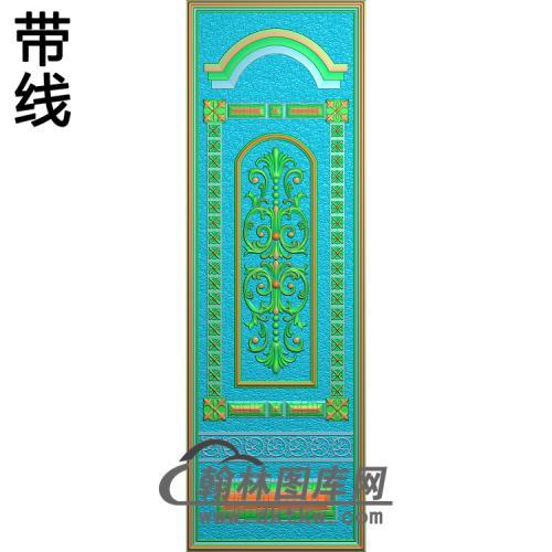 洋花铝雕精雕图(TM-515)
