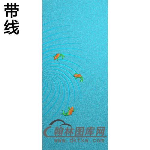 鱼铝雕精雕图(TM-518)