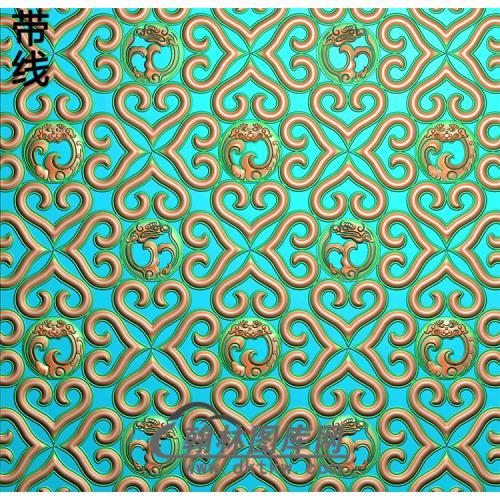 纹理精雕图(wl-291)