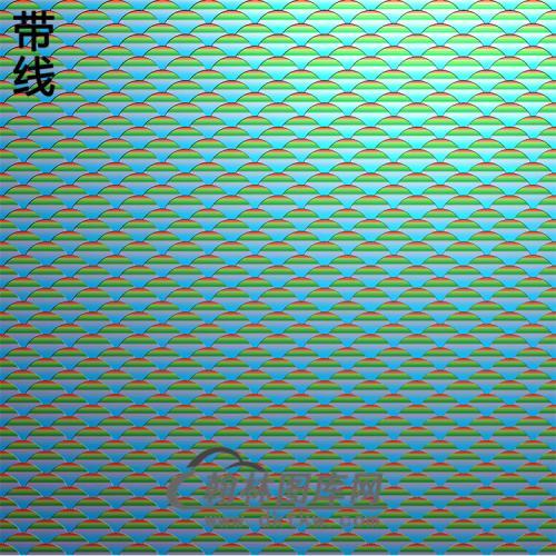 鱼鳞纹理精雕图(wl-300)