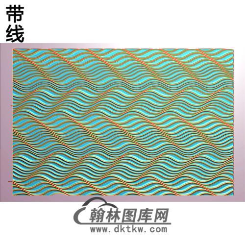 波浪板纹理精雕图(wl-305)