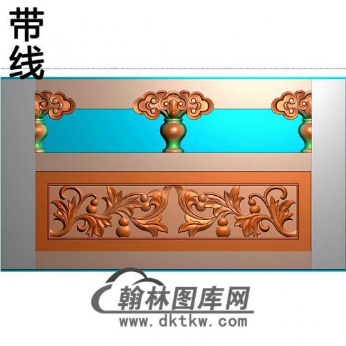石材栏板精雕图浮雕图雕刻图HL-32有线