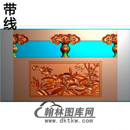 石材栏板精雕图浮雕图雕刻图HL-41有线