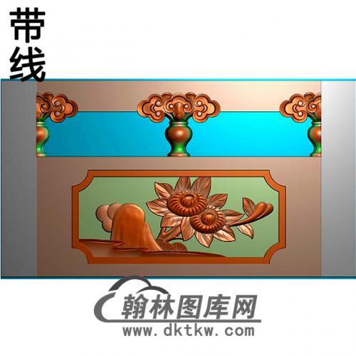 石材栏板精雕图浮雕图雕刻图HL-46有线