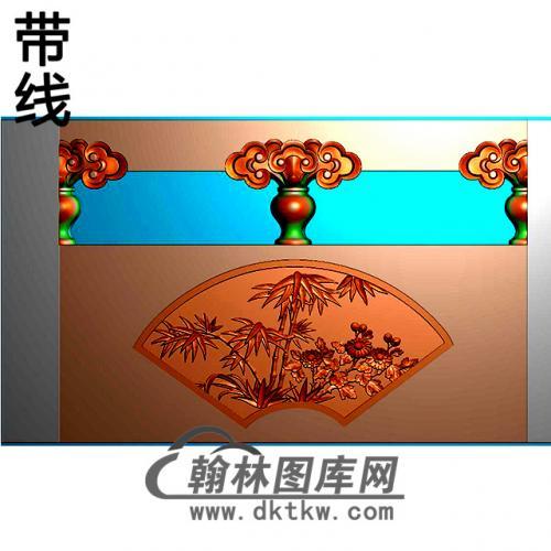 兰竹菊石材栏板精雕图浮雕图雕刻图HL-52有线