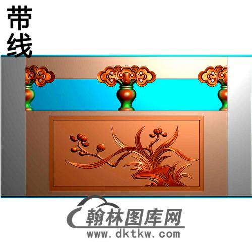 兰花石材栏板精雕图浮雕图雕刻图HL-61有线