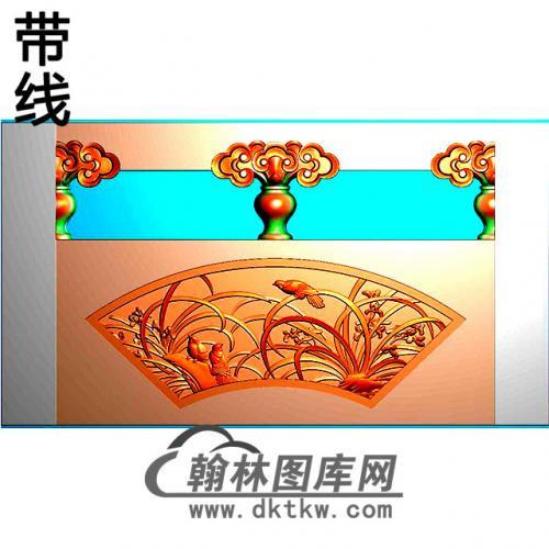 兰花石材栏板精雕图浮雕图雕刻图HL-65有线